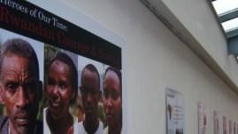 Rwandan genocide exhibition in Hackney.   Photo: Kyriaki Theochari