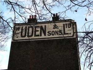 W. Uden & Sons in Lewisham Photo: Jane Parker