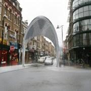 Proposed Hijab Gates,Brick Lane