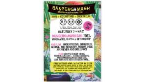Bangers & Mash at Xoyo, Old Street