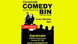 Carnivale Comedy Bin