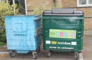 Recycling Bins in Lewisham