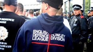 EDL demonstrators: Sophia Ignatidou