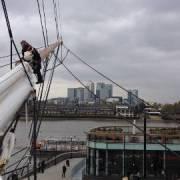 The Cutty Sark Rejoins London's Skyline