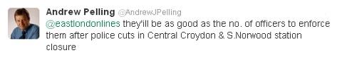 Andrew Pelling Tweet