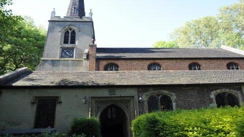 St. Mary's Stoke Newington. Pic: Andrew Hudson
