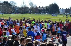 Marathon Runners at Blackheath Copyright:Hannah Newton