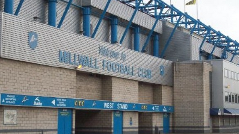 New Den in Lewisham, home to Millwall FC. Pic: ELL