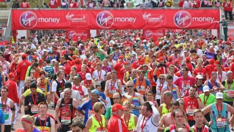 2012 London Marathon. Pic: Virgin London Marathon