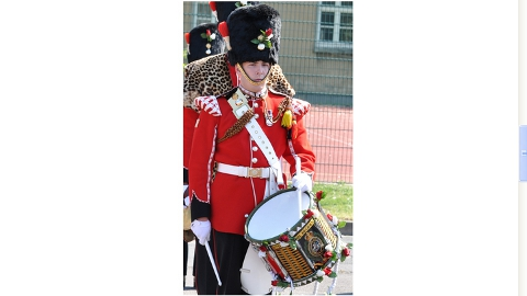 Drummer Lee Rigby in ceremonial uniform. He had also served in Helmand Province Afghanistan.