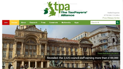 Large drop in ELL local government high earners revealed in Taxpayers' Alliance Report