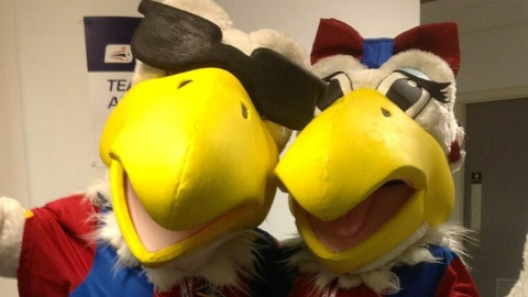 Pete and Alice Eagle. Pic: CPFC