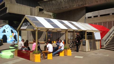 Luke's Cafe at the Southbank centre. Pic: Luke's Cafe