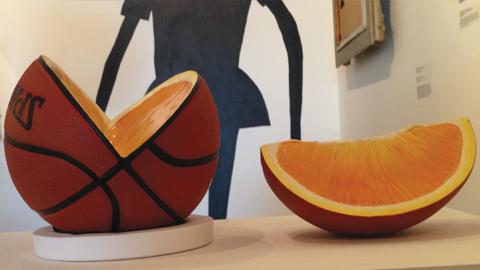 """Untitled Orange"" by Meret Probst. Photo: Ana Cristina LoCus"