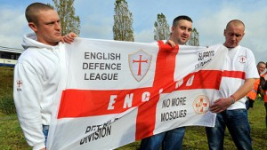 English Defence League. Pic: ELL
