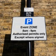 Hackney parking sign photo