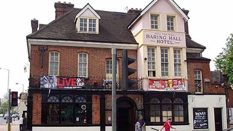Baring Hall Hotel, Lewisham, Grove Park