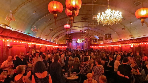 The 'Spirit of Lewisham' event at the Rivoli ballroom. Pic: Andy Worthington