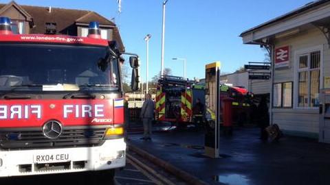 Croydon Station Fire