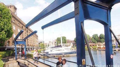St.Katharine Docks Pic: Takeshi Kosaka