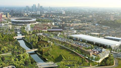 Queen Elizabeth Olympic Park. Pic: London Legacy Development Corporation