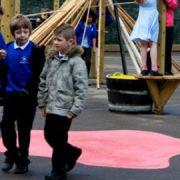School playground. Pic: Jane Bain