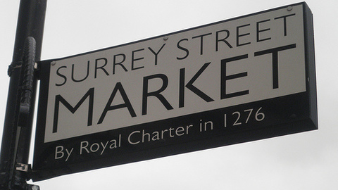 Bargains to be had at the the historic Surrey street market. Pic: rjw1