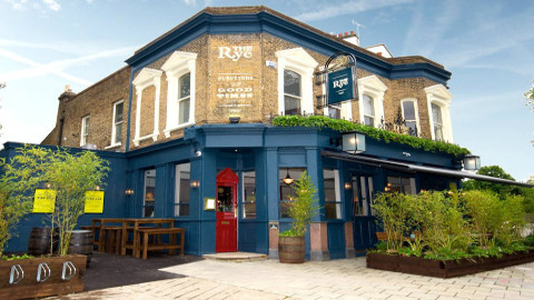 The Rye, quintessential modern day pub. Photo: Simon Adams