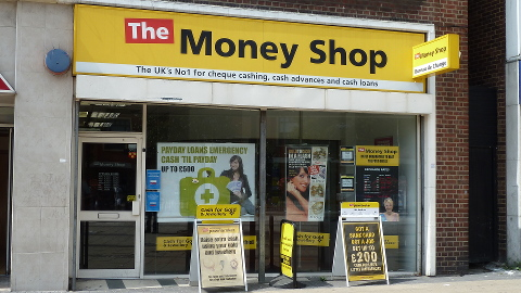 Payday loan shops are a common sight on Lewisham High Street Pic: Jack Simpson
