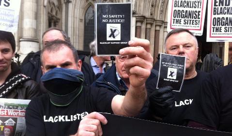 Blacklist campaigners Pic: Chiara Rimellaa