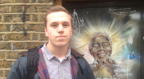 Ben Collier, 19, Photographer Pic: Dan McCarthy