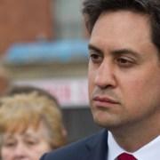 Ed Miliband Pic: Paul Bednall