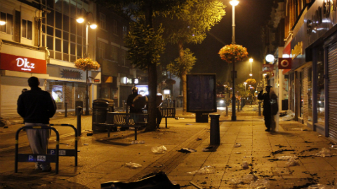 London Riots. Pic: Greg Brummel