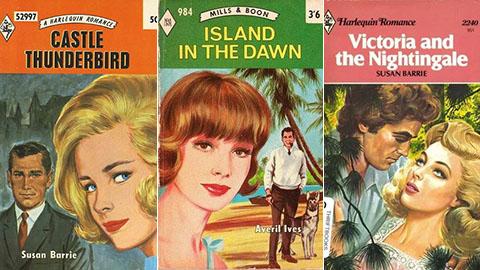 Ida Pollock covers Pic: Mills & Boon and Harlequin Romance
