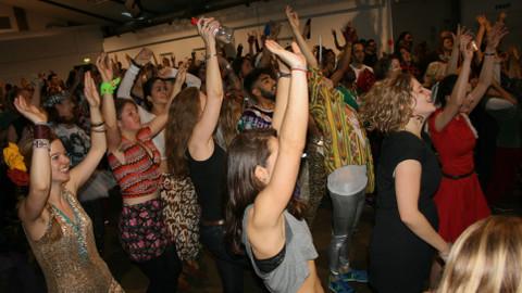 Morning rave dancers Pic: Kamal Badhey