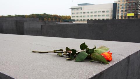 Holocaust Memorial, Berlin. Pic: Ana Luiza Oliveira
