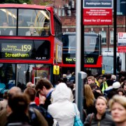 Commuters in London. Pic: CGP Grep
