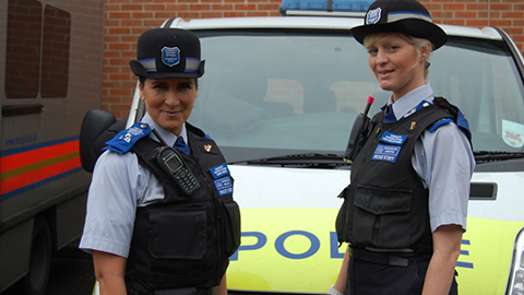 PCSOs Karen Creech-Photo Credit Metropolitan Police