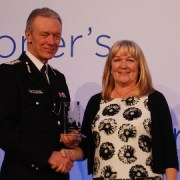 Police Staff of the Year - Jill DiMartino. Pic: Met Police
