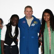 Students get their experiment launched by astronauts. Pic: ISSET