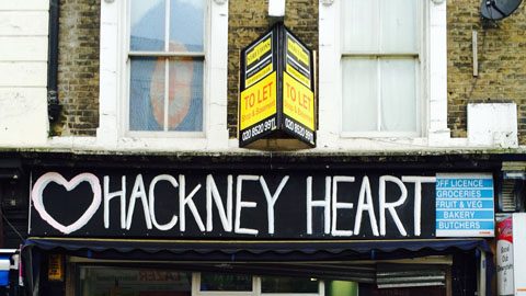 Hackney Heart. Pic: Paco Anselmi
