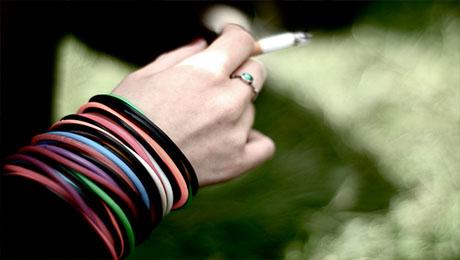 Smoking. Pic: Valentin Ottone