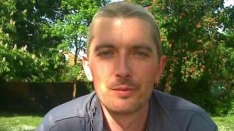 Victim Michael Hunt. Pic: Met Police