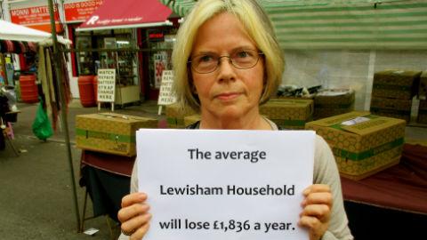 Lewisham. Pic Source: Maya Oppenheim.