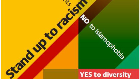 "Lewisham is saying ""Yes"" to diversity. Pic: Stand Up to Racism and Fascism"