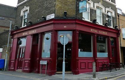 Royal George Pub Pic: Ewan Munro