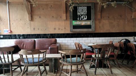 Bar Room At London Fields Bar