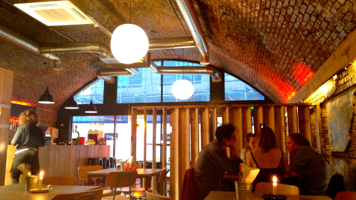 Breddos Tacos will be serving Mexican food until October 2014 in Haggerston. Photo: Paula Donnelly
