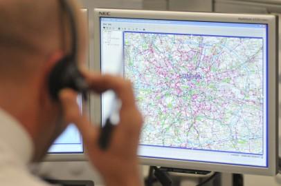 Scotland Yard traffic controller Pic: Met Police