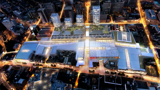 The regeneration of Croydon town centre costs £1 billion  and includes the new shopping centre. Photo: Westfield Croydon